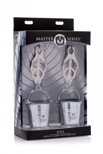 Master Series Jungs Nipple Clamps with Buckets