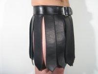 R&Co Leather Gladiator Kilt