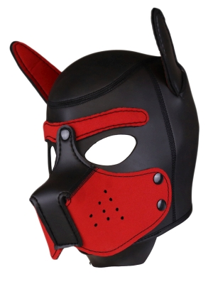 Rude Rider Neoprene Puppy Hood Red