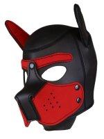 Rude Rider Neoprene Puppy Hood Red