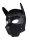 Rude Rider Neoprene Puppy Hood Black