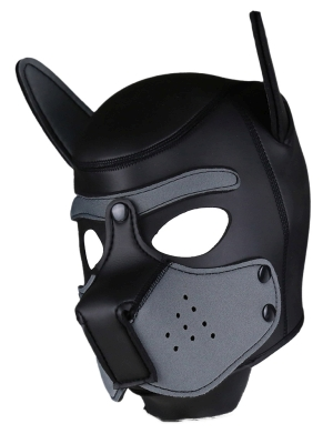 Rude Rider Neoprene Puppy Hood Grey