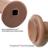 SquarePeg Toys Dirk Harness Chestnut 1X + FlushCup
