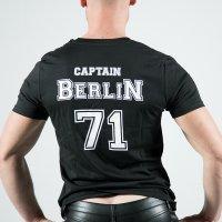 Captain Berlin T-Shirt Black