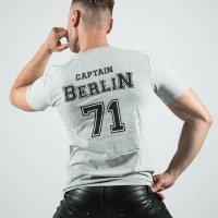 Captain Berlin T-Shirt Grey