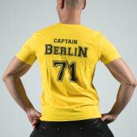 Captain Berlin T-Shirt Yellow