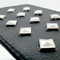 Black Label Leather Paddle With Studs