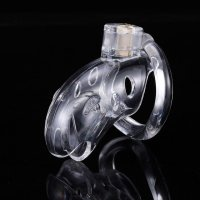 BRUTUS Shark Cage - Chastity Cage - Clear
