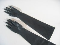 Rubber Gloves Elbow Length Heavywight