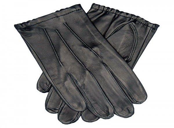 TD302 UltraThin Cabretta Leather + Lines Black