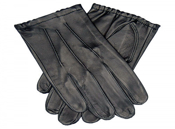 Tough Gloves TD 302 Ultra Thin Cabretta Leather + Lines Black