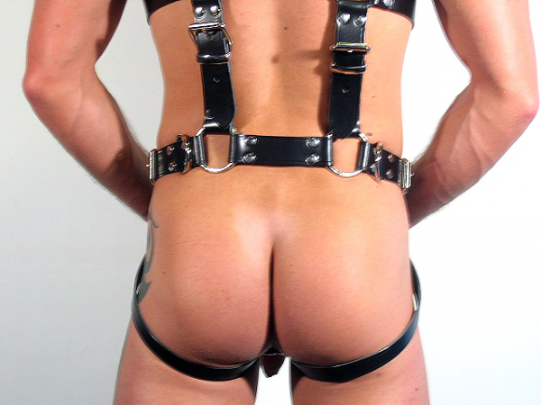 R&Co Full Body Slave Bondage Harness With D-Rings