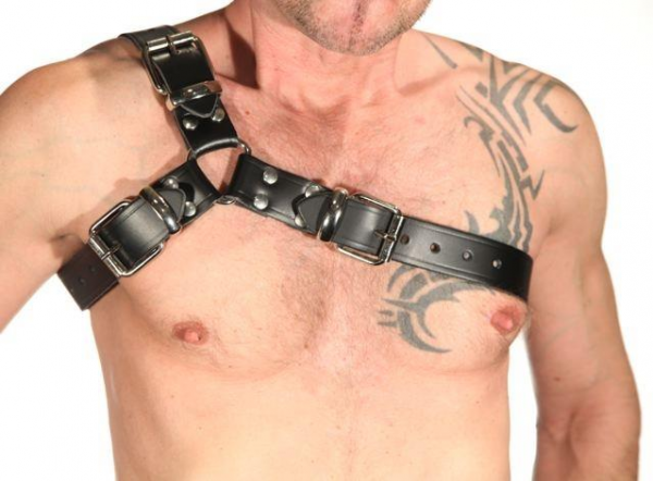 R&Co 3-Buckle Gladiator Shoulder Harness