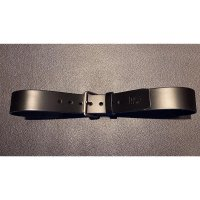 R&Co Leather Belt 5 cm Black