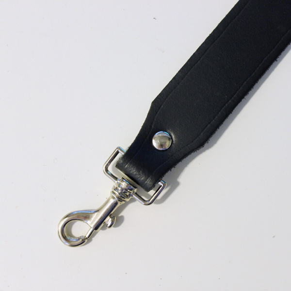 R&Co Sam Browne Leather Strap + Trigger Black