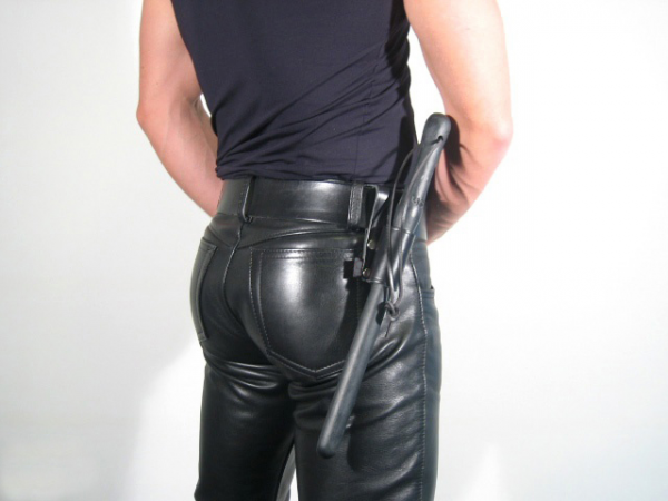 R&Co Leather Belt Holder for Truncheon S