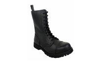 Boots & Braces 10 Eyes Black