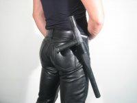 R&Co Leather Belt Holder for Truncheon L