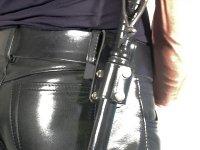 R&Co Leather Belt Holder for Truncheon