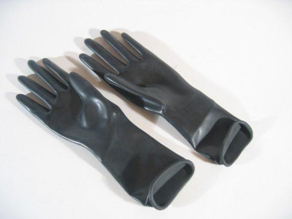 Rubber Gloves Wrist Length
