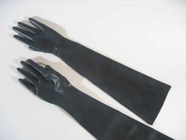 Rubber Gloves Elbow Length