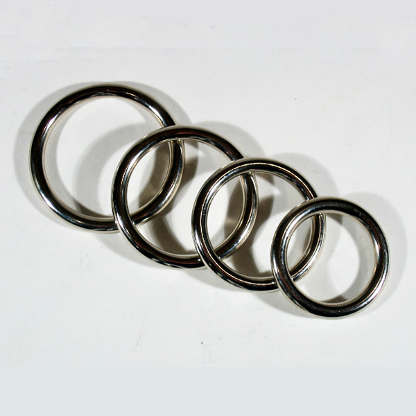 Cock Ring Solid Metal 8 mm Thick