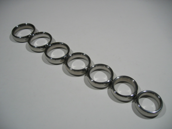 Stainless Steel Donut Cock Ring 18 mm High