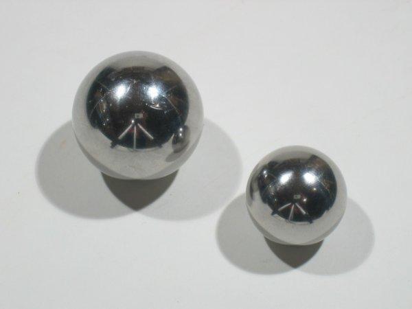 Stainless Steel Ball Hollow + Ball Inside