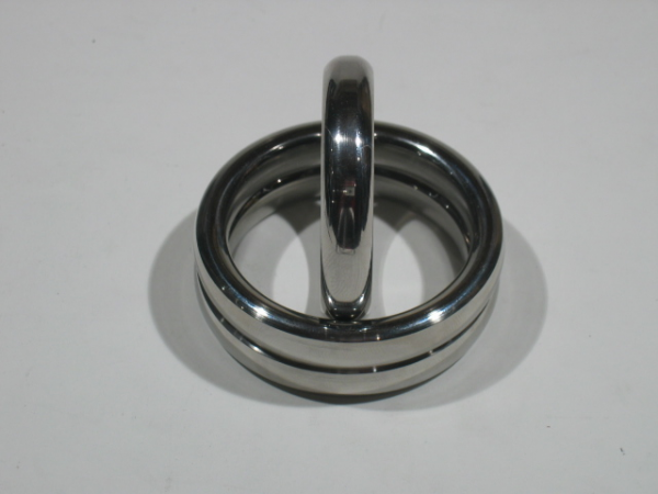 Stainless Steel Donut Cock Ring 13 mm High