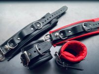 R&Co Lockable Ankle cuffs padded