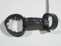 R&Co Cockharness With Chain Plain