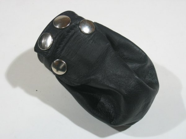 R&Co Cock & Ball Bag With Flap Pin Prick