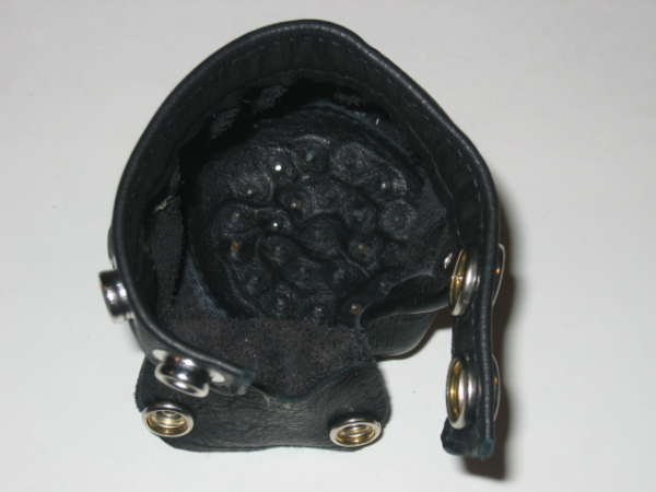 R&Co Cock & Ball Bag With Flap Sharp Pins