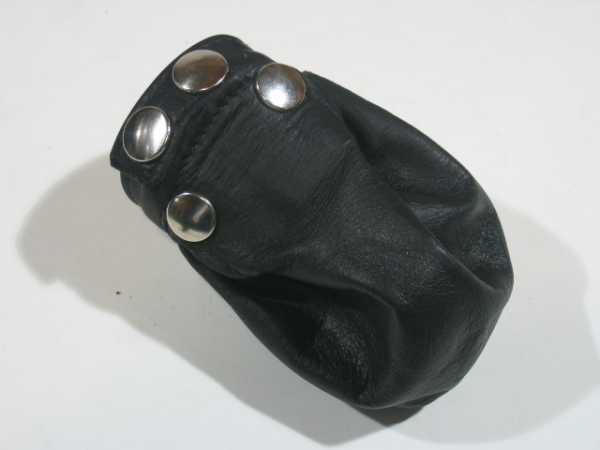 R&Co Cock & Ball Bag With Flap Plain