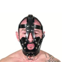 R&Co Leather Head Harness with Gag