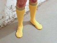 R&Co Football Socks + Stripes - Yellow/Black