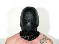 R&Co Leather Kidnapping Hood