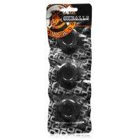Oxballs Ringer Cock Ring 3-Pack Black