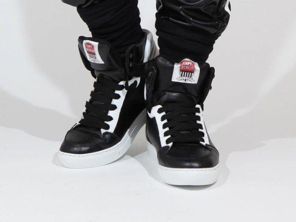 Capt. Berlin Sneaker Black/White