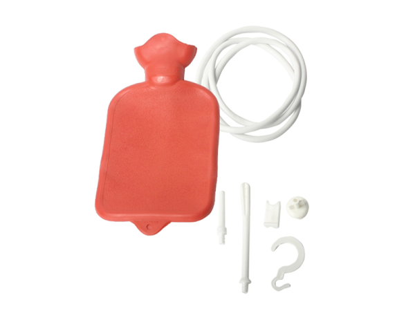 CleanStream Water Bottle Douche Kit Red