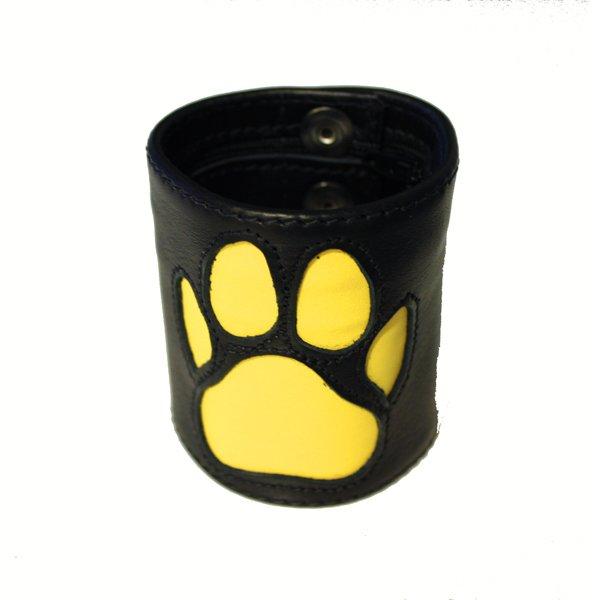 R&Co Wrist Wallet + Paw Yellow