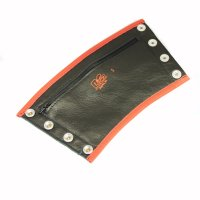 R&Co Gauntlet Wallet + Pipings Red