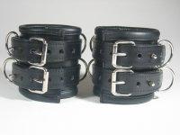 R&Co Heavy Duty 10 cm Wide Double Buckled Wrist...