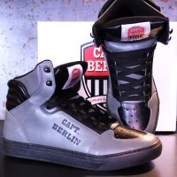 Capt. Berlin Sneaker Grey/Black