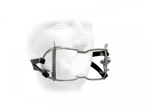 Whitehead Ratchet Mouth Gag With Leather Strap
