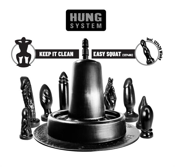 Hung System Easy Squat (incl. 1 x Winky)