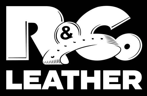 R&Co Leather T-Shirt Black