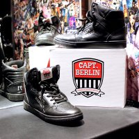Capt. Berlin Sneaker Black/Black