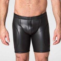665 Neo Open Long Shorts Black