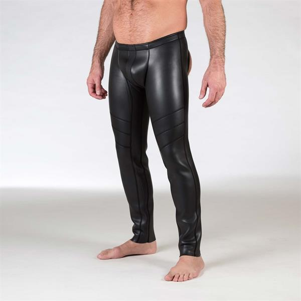 665 Neo Open Ass Pants Black